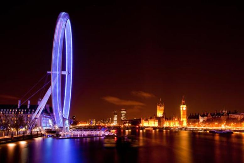 £4 instead of £10 for a child ticket on a night bus tour of London, £7 for an adult or £19 for a family with London By Night - save up to 60%