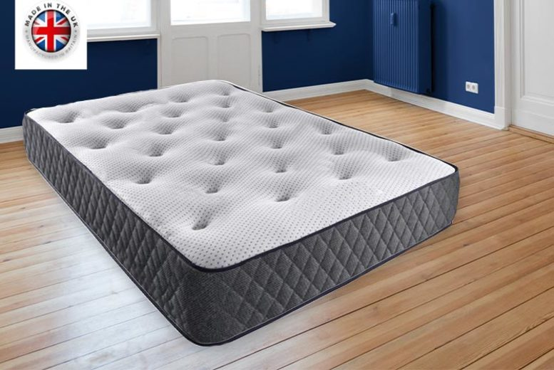 From £89 for a single reflex memory sprung mattress from Dreamtouch Mattresses LTD – choose your size save up to 41%