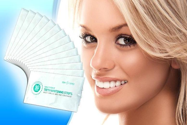 £15 instead of £49 (from Smile Science) for a pack of 14 non-peroxide teeth whitening strips - save a pearly 69%