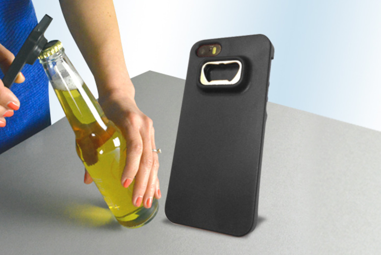 £5.99 instead of £14.99 (from Fresh Cases) for an iPhone case with a built-in bottle opener, or £9.99 for 2 - save up to 60%