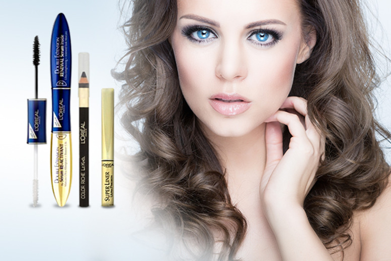£11.99 instead of £24.27 (from Look 'N' Style) for a 3-piece L'Oréal eye makeup set, or £13.99 for a 4-piece set - save up to 51%