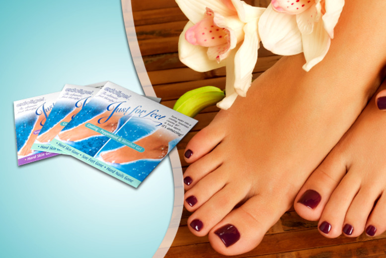 £7 instead of £18 (from Pamper Me Store) for a pack of 3 Gelicity foot spa treatments, £12 for a pack of 6 - save up to 61%