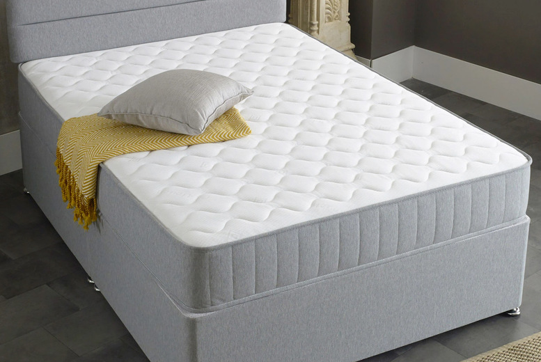 From £99 (from Desire Beds) for a grey Castle micro-quilted memory foam mattress – choose from six sizes!