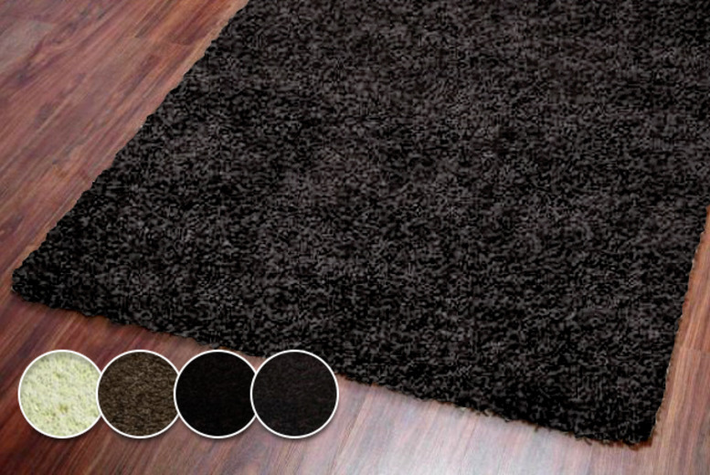 From £12.99 (from Tranquility Beds) for a Montana shaggy rug in a choice of sizes and colours - save up to 68%