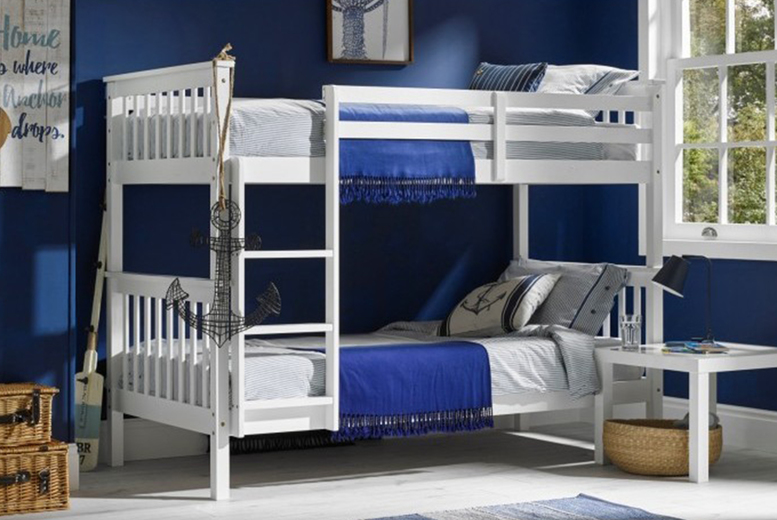 £399 (from Envisage Home) for a white bunk bed