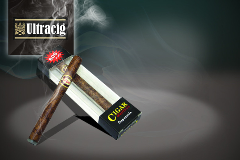 £8.50 instead of £18.99 (from Ultracig) for a disposable electronic cigar - save 55%