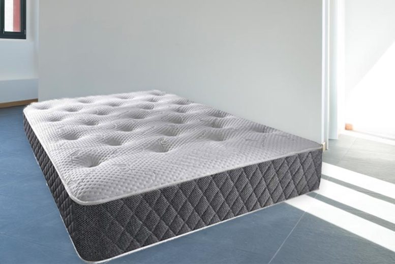 From £89 for a vertigo tufted memory sprung mattress from Dreamtouch Mattresses LTD – choose your size save up to 48%