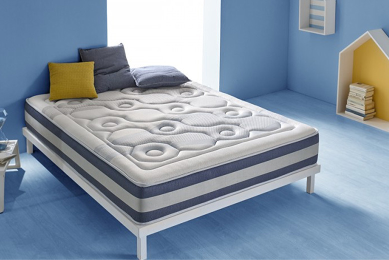 From £99 (from Eccox) for a self-regulating 13-zone quilted memory foam mattress!