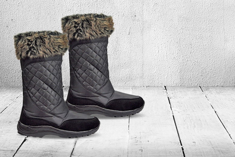 £19 instead of £50 (from Derby House) for a pair of faux-fur trimmed Snöe Polar boots - save 62%