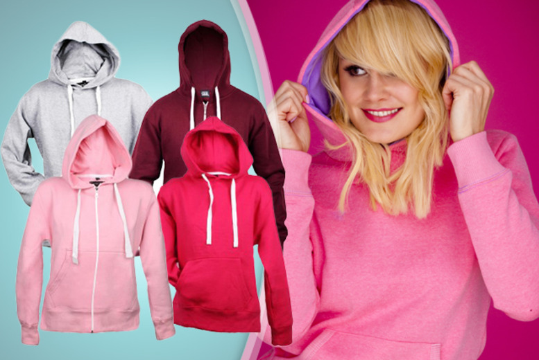 £7.99 instead of £24.99 (from 16sixty) for a women's zip-up or pullover hoodie, or £12.99 for two hoodies - save up to 68%