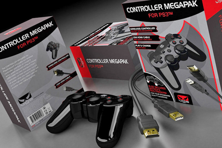 £14.99 instead of £29.99 (from 365games) for an unofficial PS3 controller mega pack - save 50% + DELIVERY INCLUDED!