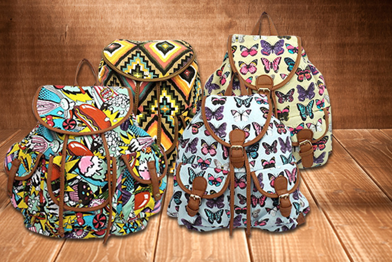 £15 instead of £25 (from Leila Eve) for a fashion rucksack from a range of styles - save 40%