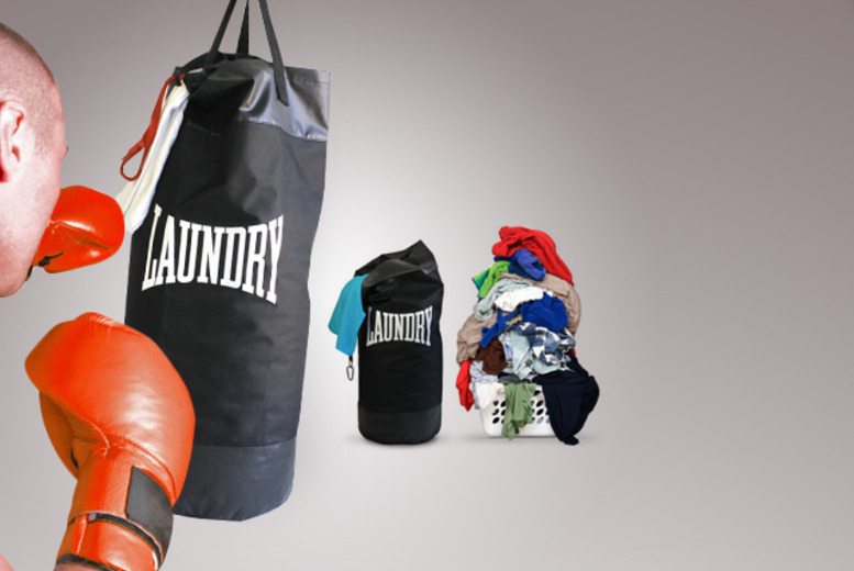 £9.99 instead of £18.25 for a laundry punch bag from Wowcher Direct - save a thumping 45%