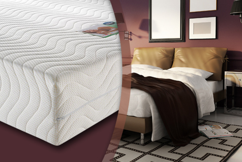 From £149 (from Trusleep) for a single, double, king or super king Trusleep Ortho DreamGel memory foam mattress - save up to 70% + DELIVERY INCLUDED