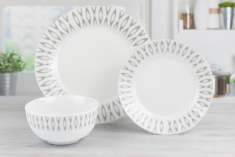 Image of 12Pc Savannah Dining Set | Living Social