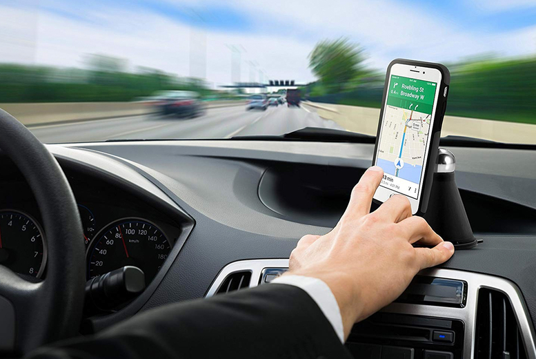 Image of Magnetic Phone Holder Car Mount   Living Social