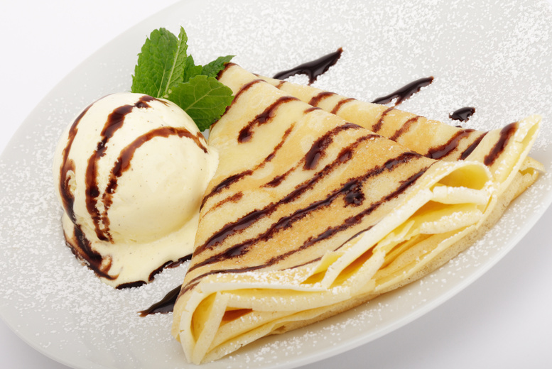 £7.50 instead of up to £14.90 for a waffle or crepe with gelato for 2 people including any hot drink each at Zooba, Hammersmith - save up to 50%