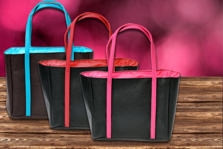 £6.99 for a nylon or patent insulated lunch tote bag, £9.99 for 2 bags from Wowcher Direct!