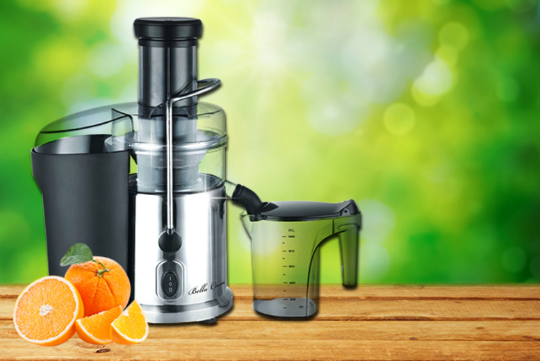 £29.99 instead of £97.99 (from Web 18) for a Bella Casa chrome juicer - save a belting 69%