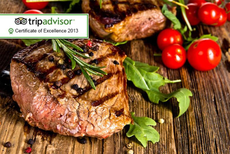 £16 instead of up to £32 for a 10oz rib-eye steak meal for 2 at Jesmond Grill, Newcastle - save up to 50%