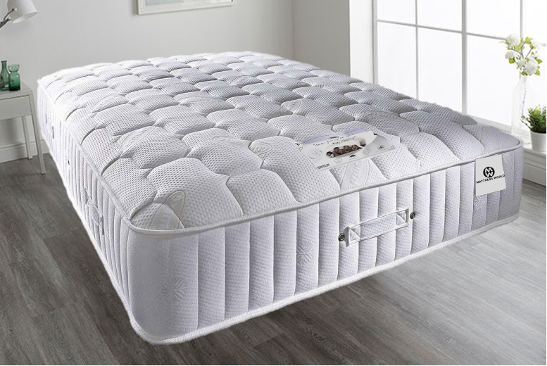 From £239 for a royal supreme 4000 pocket sprung memory foam mattress from Mattress Haven – save up to 57%