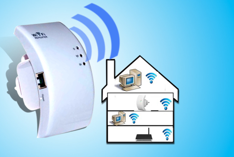 £19.99 instead of £49.99 (from AMS Global) for a home Wi-Fi signal booster - save 60%
