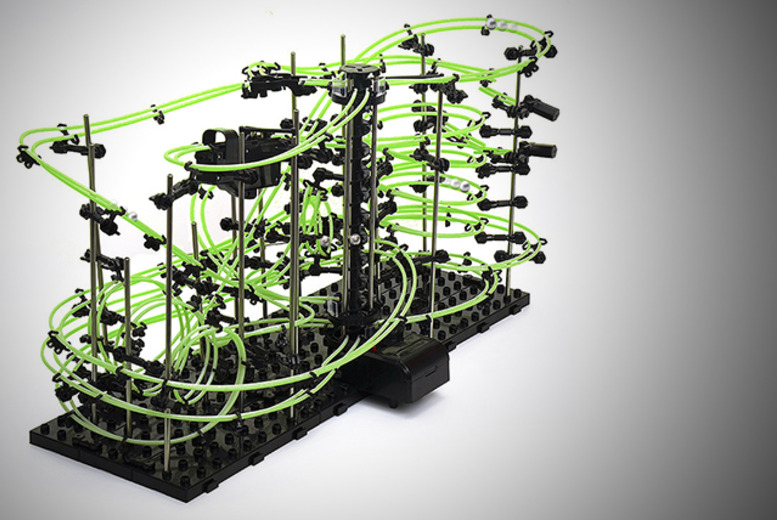 £19.99 instead of £25 for a build your own, glow in the dark SpaceRail toy rollercoaster set from Wowcher Direct - save 20%