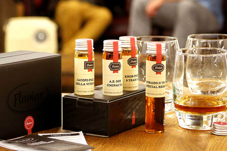 £9.99 instead of £19.99 (from Flaviar) for a whisky tasting set containing 5 different bottles - save 50%