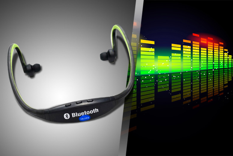 £11.99 instead of £49.99 (from Gizmo Gadgets) for set of Bluetooth sports headphones - save 76%