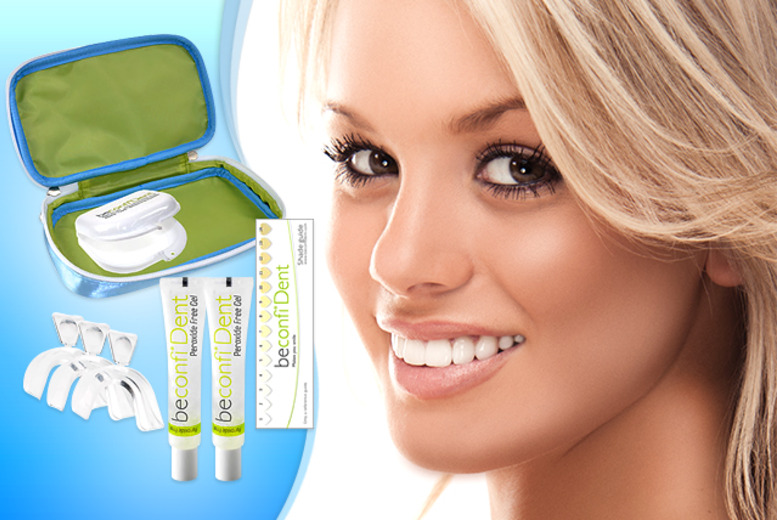 £15 instead of £102.95 (from beconfiDent) for a premier teeth whitening kit - save 85%