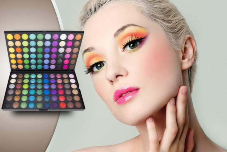 £8 instead of £27.95 (from SalonBoxed) for a 120-piece eyeshadow palette in warm or bright shades - save 71%