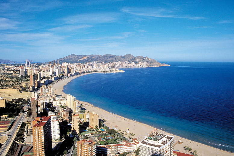 From £129pp instead of up to £241.48pp (from iFly) for a 3-night Benidorm break inc. flights, from £199pp for 7 nights - save up to 47%