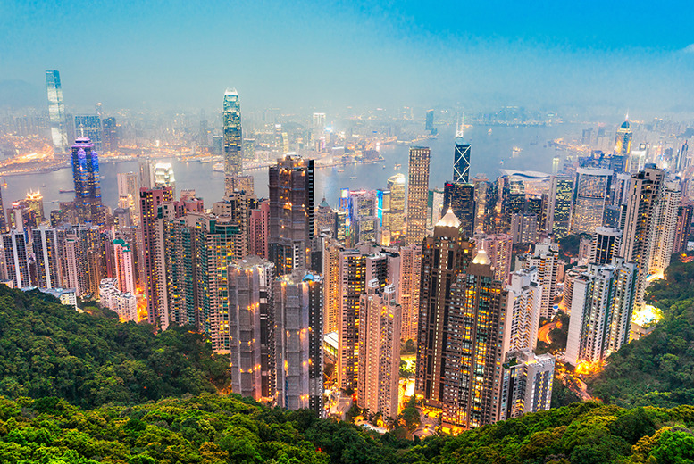 £799pp instead of £1200pp (from IWC) for a 5nt Hong Kong escape inc. return flights, 4* accommodation & city tour - save 33%