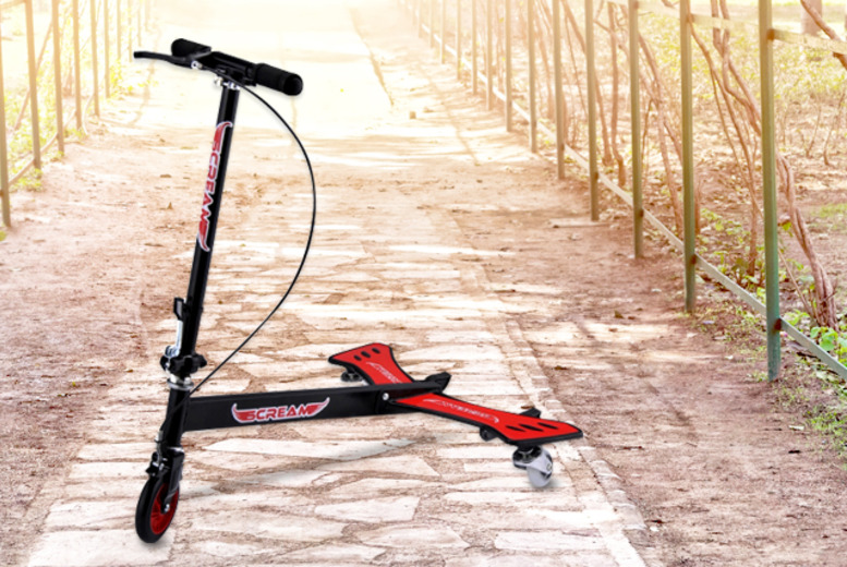 £26.99 instead of £64 (from Wowcher Direct) for a Drifting Caster scooter - save 58%