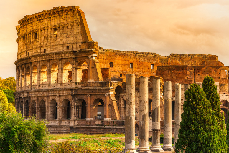 From £139pp instead of up to £261pp (from iFly) for a 2nt Rome break inc. flights, from £259pp for 3nts & tour of Colosseum - save up to 47%