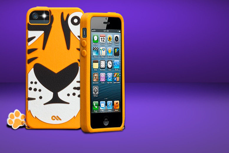 £9.99 (from Cleverkit) for a creature iPhone case with designs inc. a tiger, panda and more!