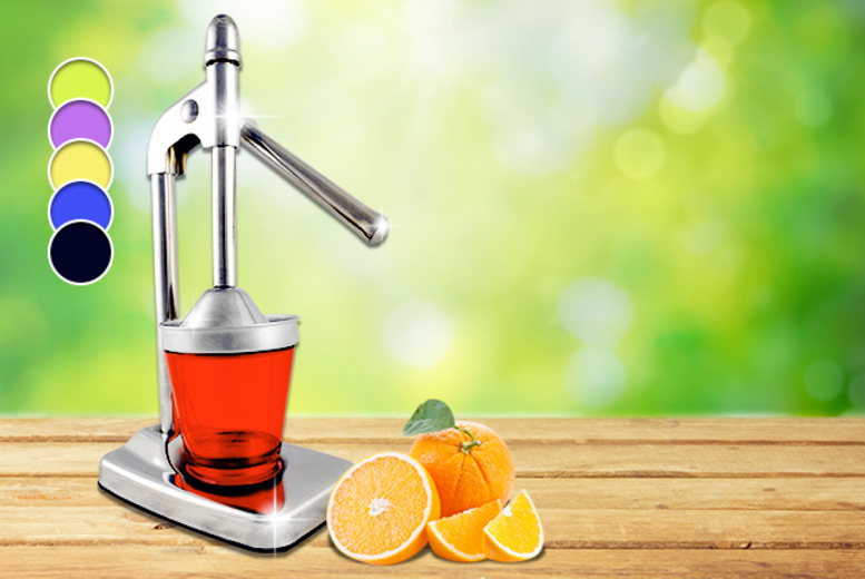 £14 instead of £24.99 (from IROF Designs) for a citrus juicer - save 44%