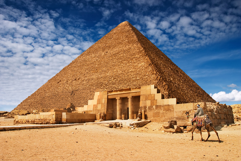 From £285pp (from Egypt Uncovered) for a 7-night tour of Egypt inc. 3* Cairo and 4* Hurghada accommodation