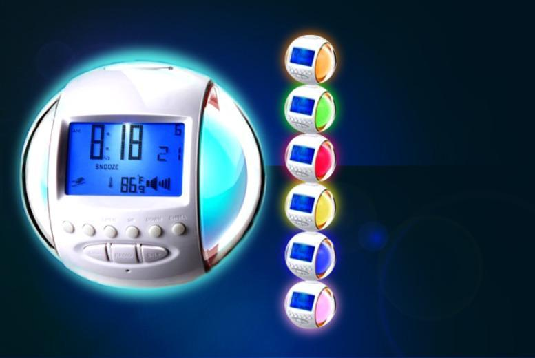 £8.99 instead of £29.99 (from LEDLive) for an LED colour change alarm clock, or £9.99 for an LED radio alarm clock - save up to 70%