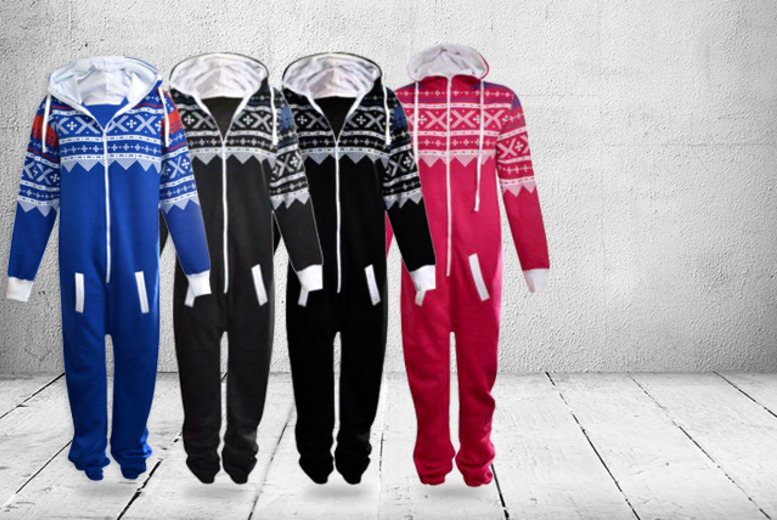 £9.99 instead of £29.99 (from MYO Fashion) for a hooded children's onesie in a choice of colours - save 67%