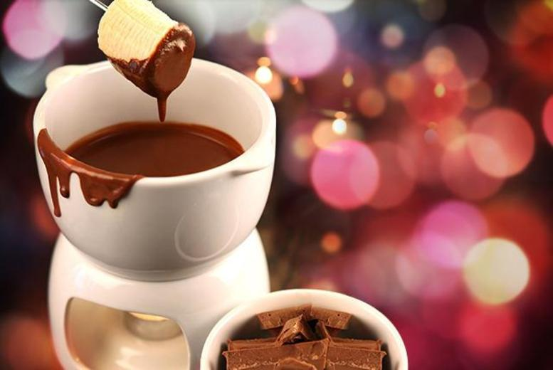 £12.99 instead of up to £26.05 for 'unlimited' chocolate fondue for 2 inc. a coffee each at Sugar Mill Desserts, Wembley - save up to 50%