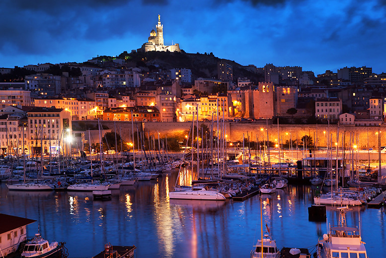 From £129pp (from ClearSky) for a 2nt Marseille 3* room-only break for 2 people inc. return flights, from £169pp for 3nts - save up to 40%