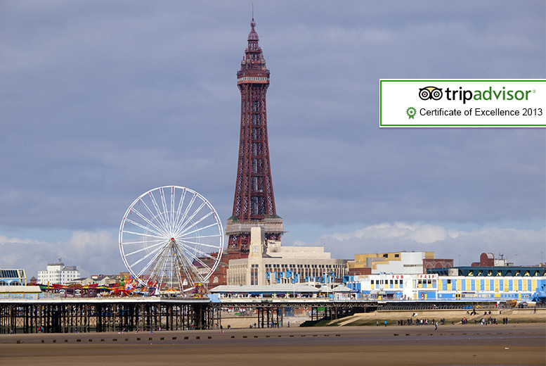£69 instead of up to £160 (at The Corona Hotel, Blackpool) for a 2-night stay for 2 including breakfast - save up to 57%