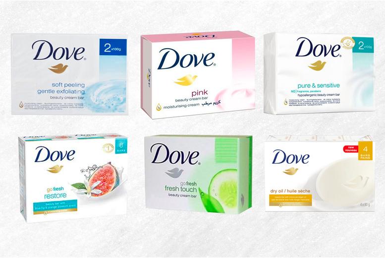 Image of 8 Dove Soap Beauty Bars   Living Social