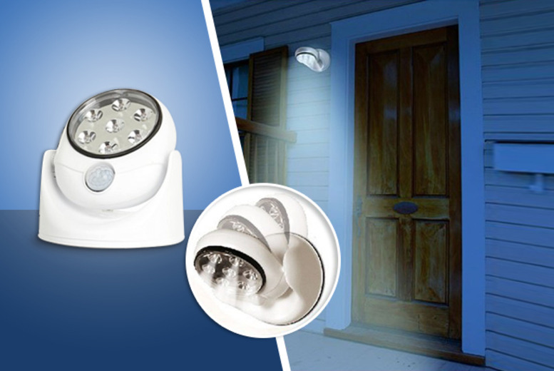£9.99 instead of £24.99 (from D2D) for a cordless motion sensor light, or £17 for two - save up to 60%