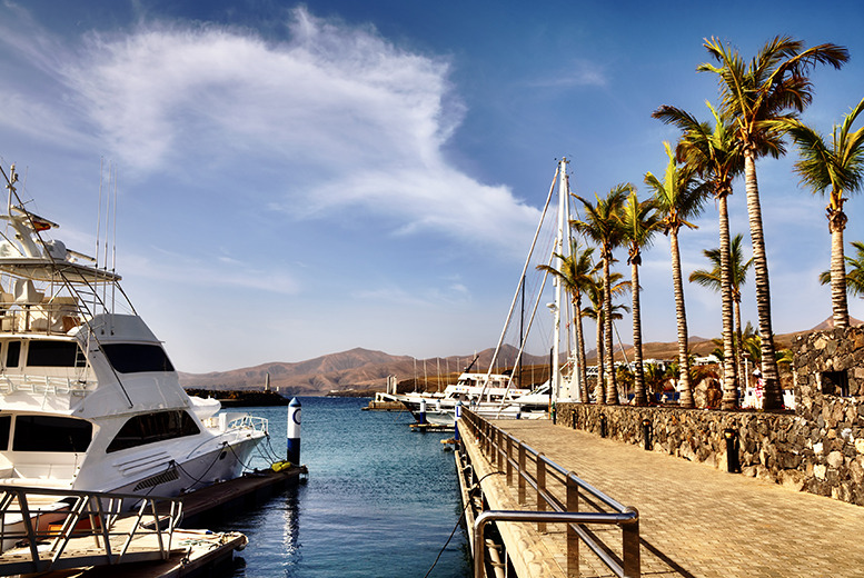 flights to lanzarote from exeter