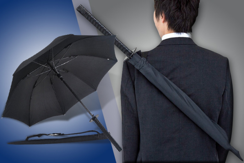 £9.99 instead of £22.99 (from London Exchainstore) for a samurai-style umbrella - save 57%