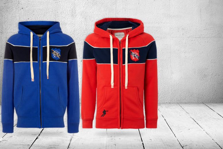 £25 instead of £51 (from Front Up Rugby) for a Yarde red or blue rugby hoodie - save a try-mendous 51%