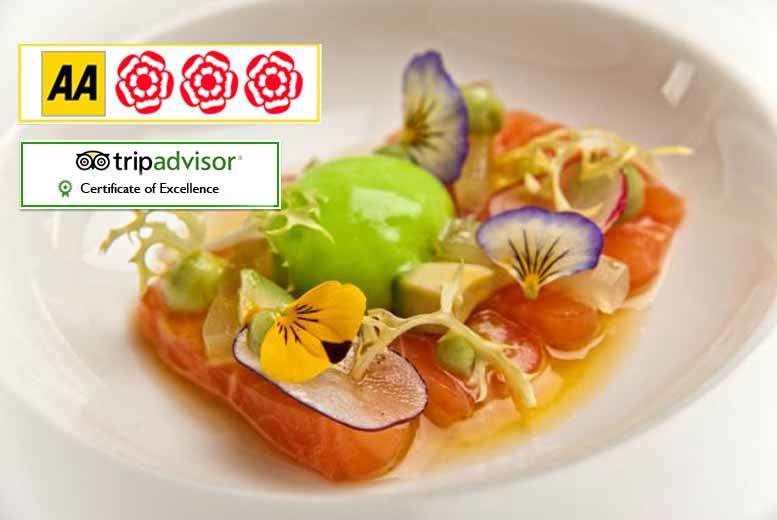 £39 for a four-course meal for two people with a Bellini each, £49 to upgrade to a bottle of Prosecco at Avista Restaurant & Bar, Mayfair - save up to 56%