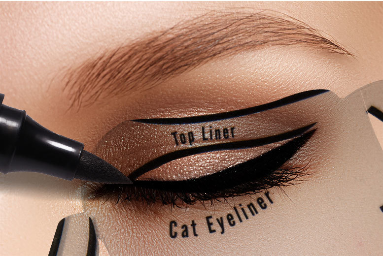 £2.99 instead of £19.99 (from Alvi's Fashion) for an eyeliner stencil - save 85%